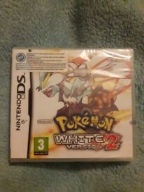 Nintendo DS Pokemon white version 2 (Sealed)