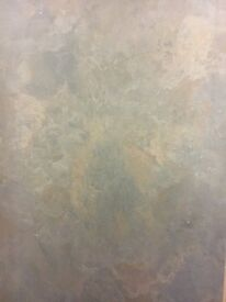 Copper slate kitchenworktop 4m length. PVC edge. Availables in other sizes! Please see Description!