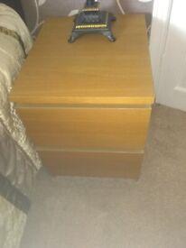 IKEA matching bedside cabinets
