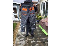 Flotation suit fisheagle make size large, as new