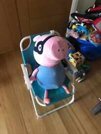 Toy bundle for sale- peppa, toy story, ben and holly, puzzles and electronic peppa games