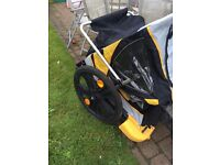 Bellelli child carrier/trailer for bicycle