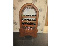 Barrel Shaped wooden Wine Rack £50 ono