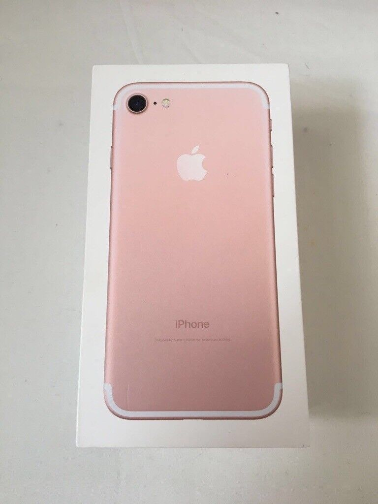 Iphone 7 128gb Rose Gold Brand New In Box Factory Unlocked Sim Free With Warranty Proof Of Receipt In London Gumtree