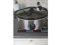 Slow cooker 6.5l