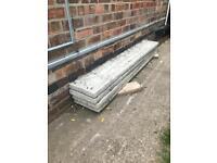 Concrete Gravel Boards Fence Garden