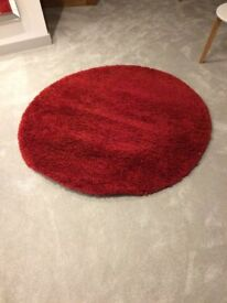 Bright Red Rug