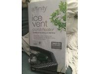 Blagdon Affinity Ice Vent Pond Heater unused still boxed