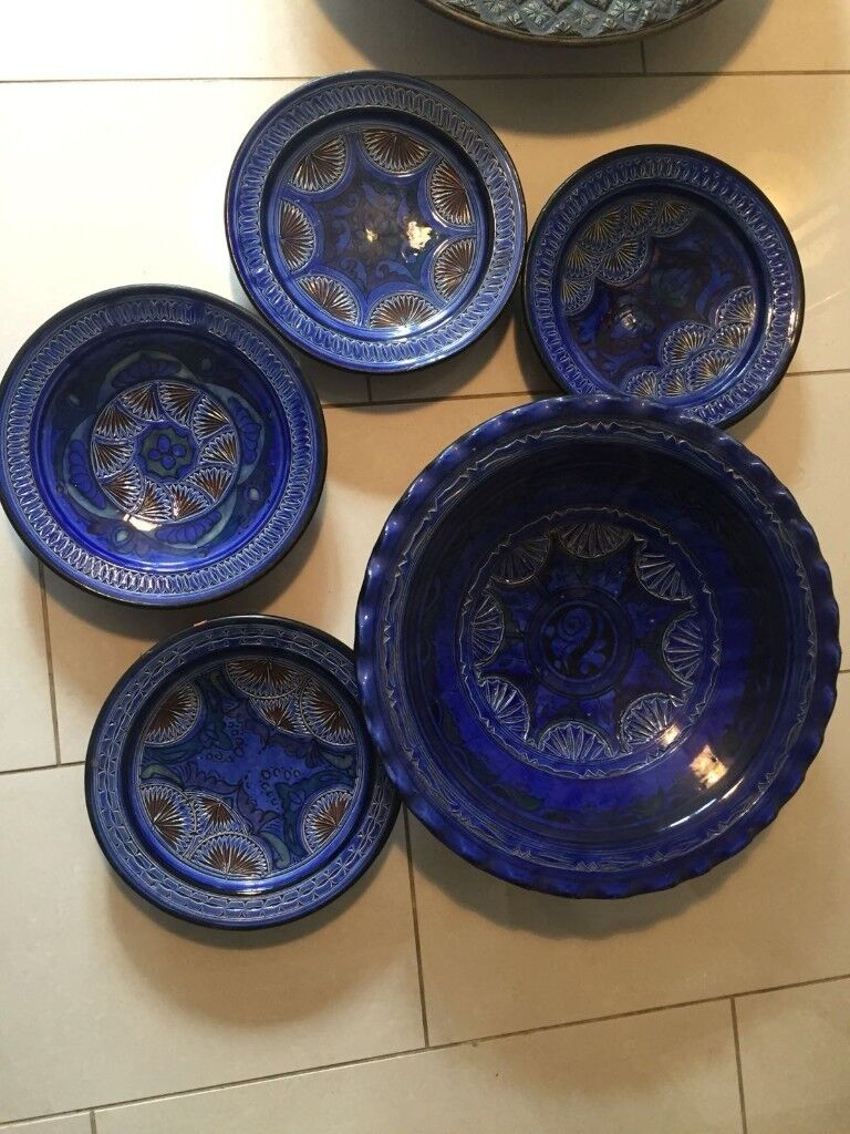 Decorative Moroccan wall plates £45 | in Willesden, London | Gumtree