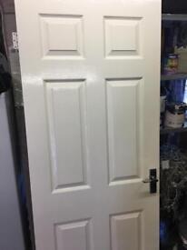 Solid internal door