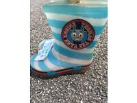 Size 7 Thomas Light up wellies
