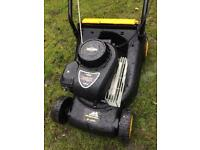 McCulloch petrol lawnmower.