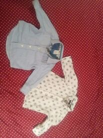 Baby shirts 3-6 months