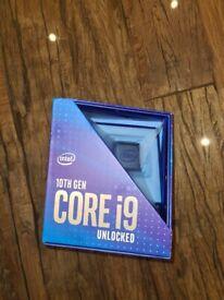 Intel i9 10900k Brand New