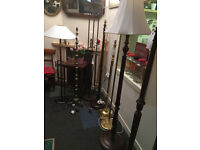 Lovely & Stylish Selection of Vintage Floor Lamps – From £20