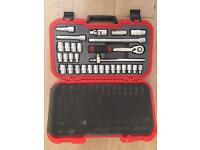 "Kennedy-Pro.MM/AF SOCKET SET 30PC 1/2"" SQ DR"