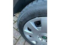 Winter Tyres +holder&cover205/55/16