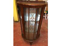 1950s Mirrored Display Cabinet
