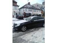 PCO CAR HIRE MERCEDES E250 13 PLATE £160.00 Per Week £300 Deposit