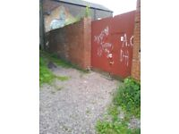 Yard to rent Levenshulme