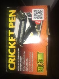 Exo Terra cricket pen with all accessories brand new in box