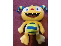 Talking Henry huggle monster soft toy