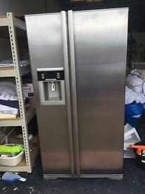 large fridge freezer fridge not working loads of spares