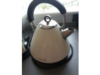 morphy richards cream kettle and toaster