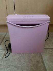 Pink Paper Shredder