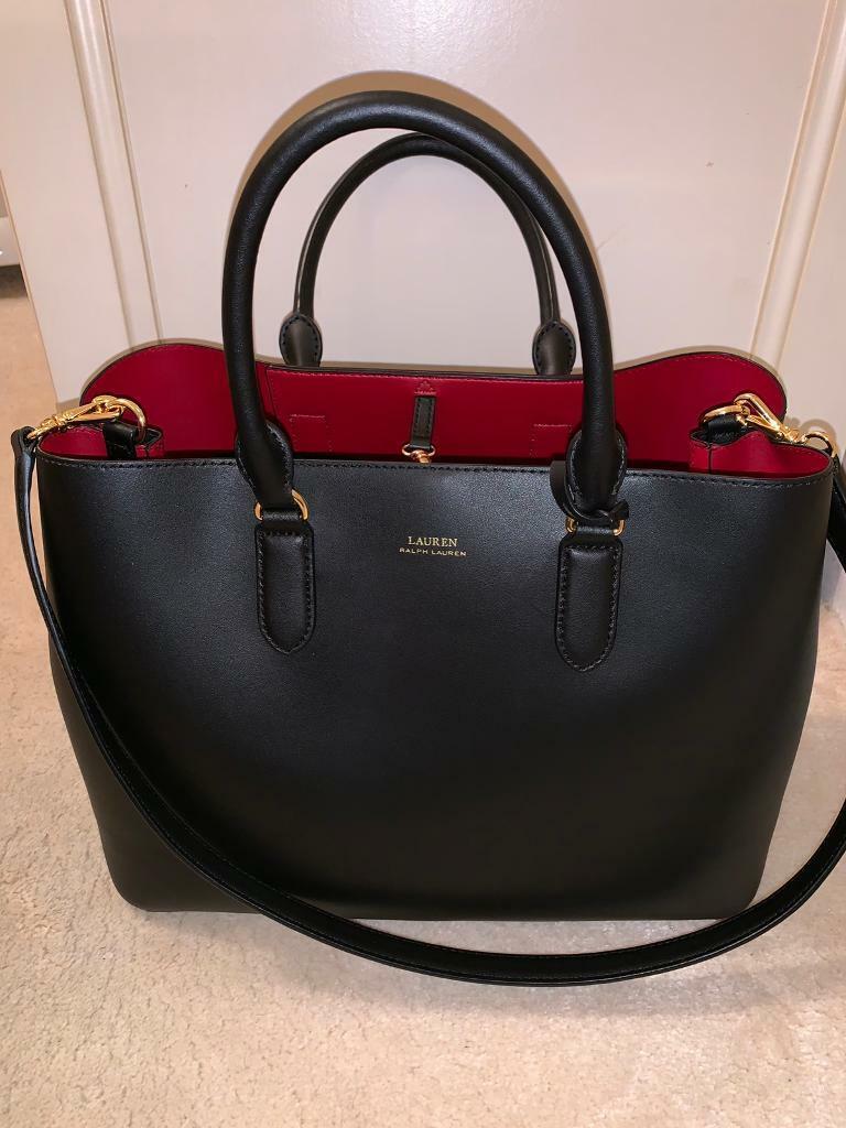 57b985ff16 RALPH LAUREN-Leather Marcy Satchel Handbag | in Datchet, Berkshire | Gumtree