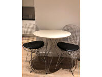 Modern Dining Table and 2 Chairs set for quick sale - Relocating abroad