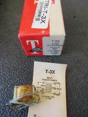 Triad Miniature Audio Transformer T3x Sec 60kct Pri 60025050 1 Mw Line Mike