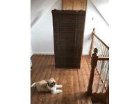 Ikea Wooden Blinds 150x160cm & 75x160cm
