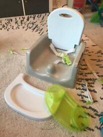 Booster Seat Table Feeding Travel Seat