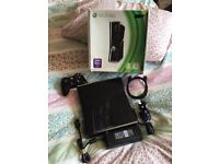 xbox 360 console slim boxed in excellent condition hardly been used