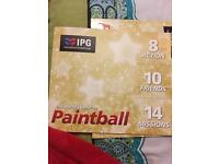 Paintball for 20 people with 2000 paint balls included for free