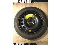 Genuine Volvo XC90 V70 XC70 S60 V60 S80 Space Saver Spare Wheel 125/80R17 Tyre