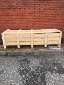Storage crates - planters