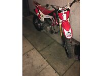 Welsh pit bike 140cc race like new