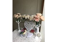 WEDDING TABLE DECORATION SET, PERFECT CONDITION, WORTH £200!