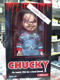 "CHUCKY 15"" FIGURE BRAND NEW WITH A 6 MONTHS WARRANTY"