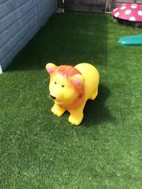 Lion hopper bouncer toy