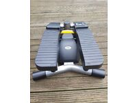 Twist & Sculpt Stepper Exercise Machine with Digital Display