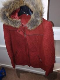 Size 8 Red Herring coat Debenhams