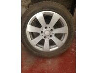 Genuine Mercedes alloy wheels