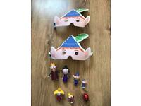 Ben and Holly figures and masks
