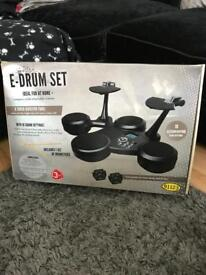 Electric Drum Kit as New