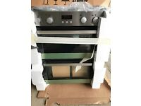 Lamona electric double oven, brand new, packaging damaged, 2 years warranty
