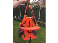 Baby swing seat for outdoor swing