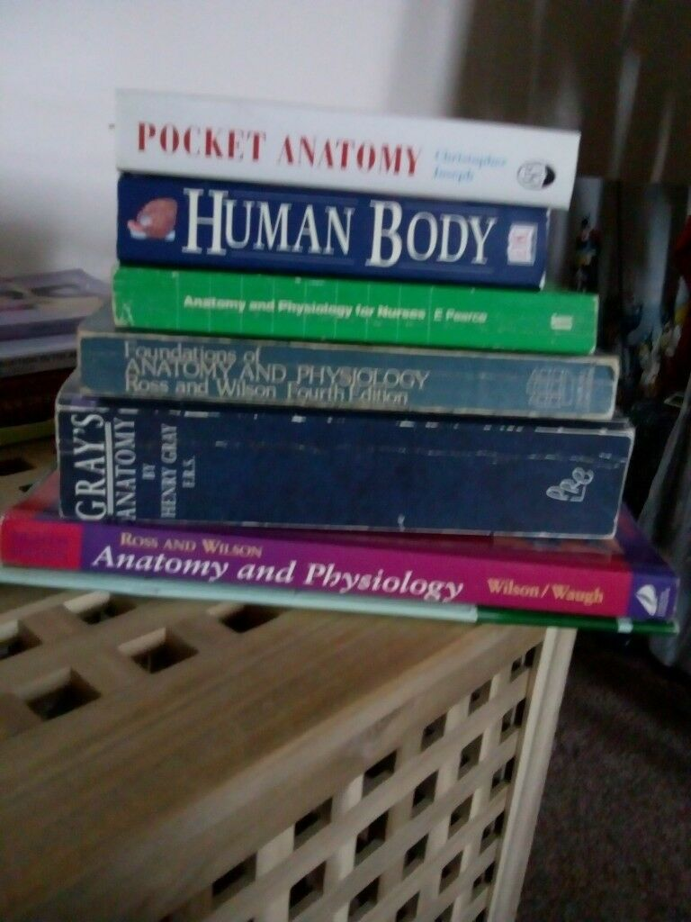 Anatomy and physiology textbooks | in West Calder, West Lothian ...